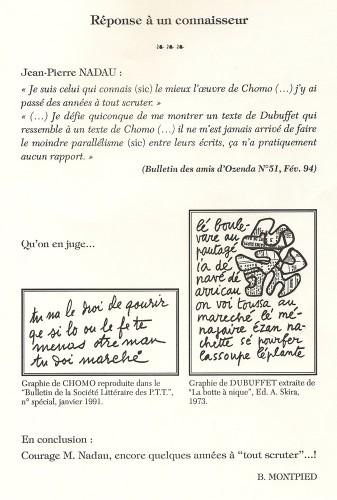 Bruno Montpied,Réponse à un connaisseur,1994.jpg