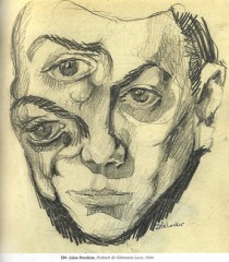 Jules Perahim, Portrait de Gherasim Luca, 1934.jpg