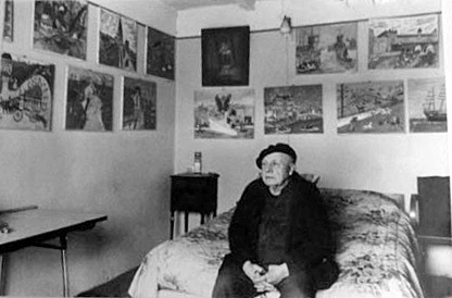 louis-françois roy,la rochelle,la palice,art naïf,anatole jakovsky,dictionnaire des peintres naïfs du monde entier