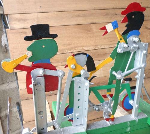yohann tireau,monsieur alexis,girouettes,vire-vent,jouets bricolés et automatisés,whirligigs français
