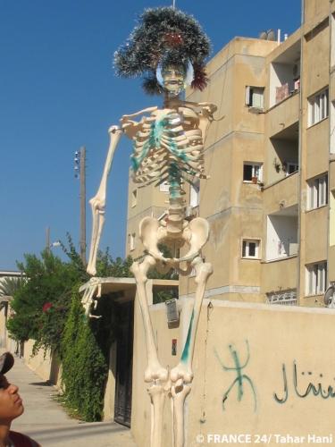 art pop révolutionnaire, Mohammed et Khadaffi.jpg