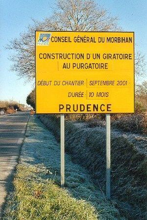 Construction d'un giratoire au Purgatoire, Morbihan, ph.B.Montpied.jpg