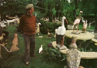 emile taugourdeau,environnements spontanés,habitants-paysagistes,sculpture naïve,eloge des jardins anarchiques,bricoleurs de paradis (le gazouillis des éléphants)