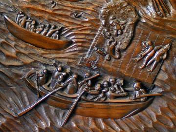 Sculpture populaire anonyme (détail), ph.B.Montpied, 2007.jpg