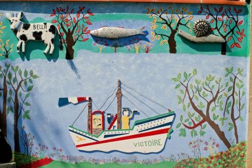 Joseph Donadello,d'étail d'une fresque avec le bateau Victoire, ph.B.Montpied, 2008.jpg