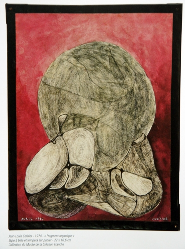 Jean-Louis Cerisier, Fragment organique,1974, mus. de la Création Franche.jpg