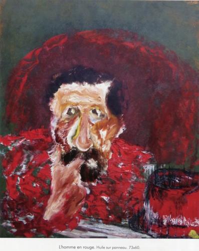 peinture, l'homme en rouge.jpg