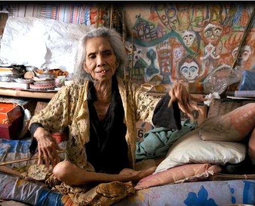 fabuloserie-paris,ni tanjung,georges bréguet,lucinne peiry,l'art brut dans le monde,art brut indonésien