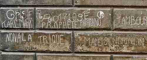 Graffiti d'Alain R.,rue Lecanuet, ph B.Montpied, 2005.jpg