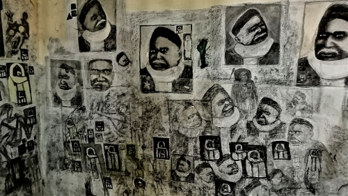 f&buloserie paris,pape diop,médina de dakar,art brut de rue,muralisme spontané,modboye