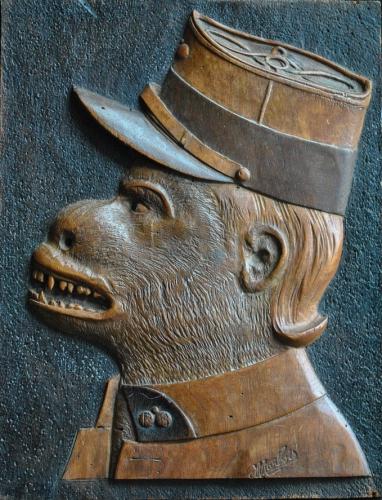 J. Marbois, soldat-singe, dédicacé en 1960 (2).jpg