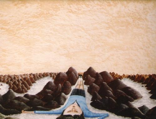 Imaginaires Le rêve, huile sur panneau de bois, 39 x 49, 1983, donation ville de Laval, 2011.jpg