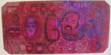 Raimundo Camilo, billet de banque, Galerie Christian Berst.jpg