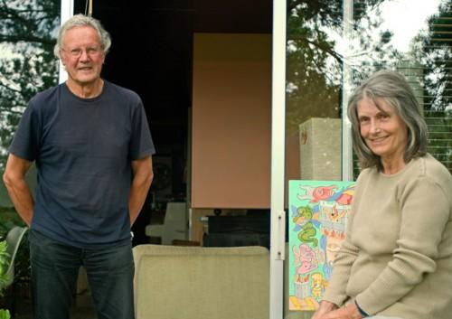 Clovis et Claude Prévost, 2008, ph.Bruno Montpied.jpg