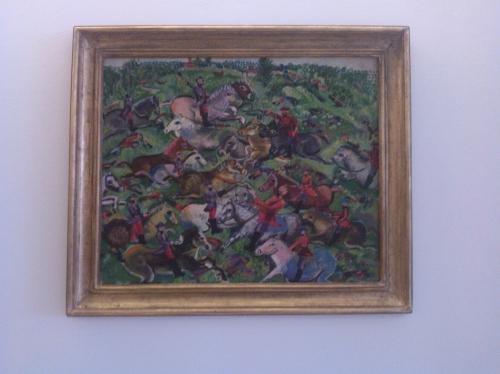 Janice Biala (1903-2000), bataille de cavaliers (1934-1936), musée d'exposition pas renseigné.jpg