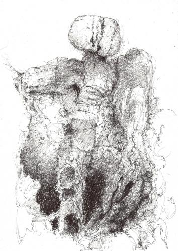 migas chelsky,michel gasqui,collages,art visionnaire,dessin,cinéma amateur
