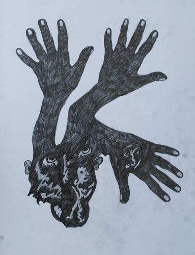 (les 3 mains) (2) 80x60 cm, c.2008.jpg