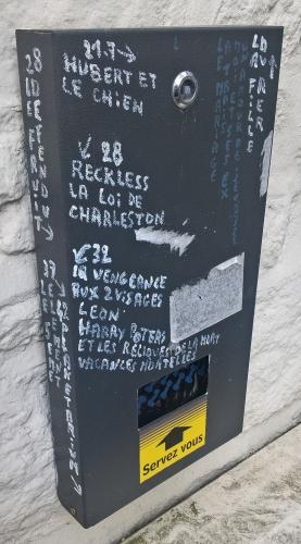 graffiti,graffitiste cinéphile de douarnenez,tréboul,titres de films,cinéma