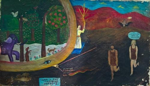 Anonyme, Adam et Eve chassés du paradis, 23x41 cm, sd (2).jpg