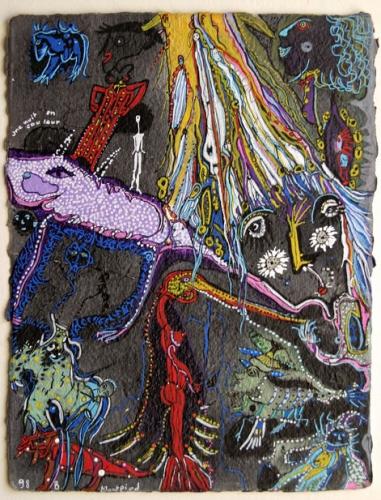 bruno montpied,art singulier,art naïf,musée d'art naïf et d'art singulier de laval,jean-louis cerisier,jules lefranc,alain lacoste,reumeau,miguel hernandez,germain van der steen,antoinette le fahler