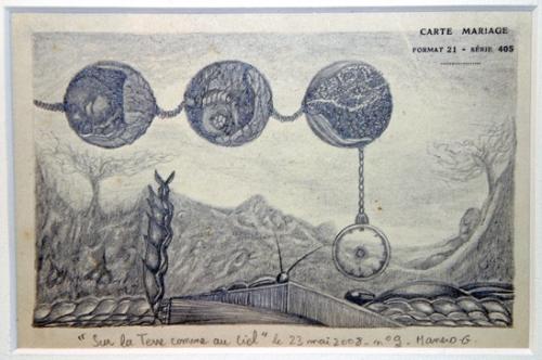 Gilles Manero, Sur la Terre comme au ciel,n°9, 2008.jpg