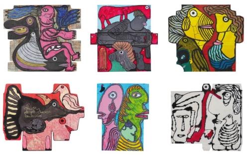 6 peintures de PA, pour son livre.JPG