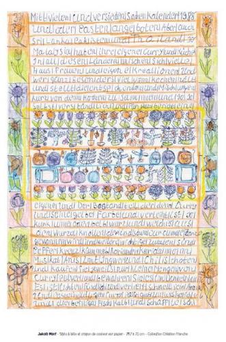 csn 53,art naïf,art singulier,paul amar,joseph pépé vignes,musée des arts buissonniers,musée-école de la perrine,douanier rousseau,fabuloserie,renaud-dampel,victor hugo décorateur,hauteville house,ursula bluhm,galerie les yeux fertiles,christelle lenci,galerie dettinger-mayer,armand schulthess,lucienne peiry
