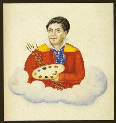 Autoportrait du bagnard Clement, Médiathèque de Rochefort.jpg