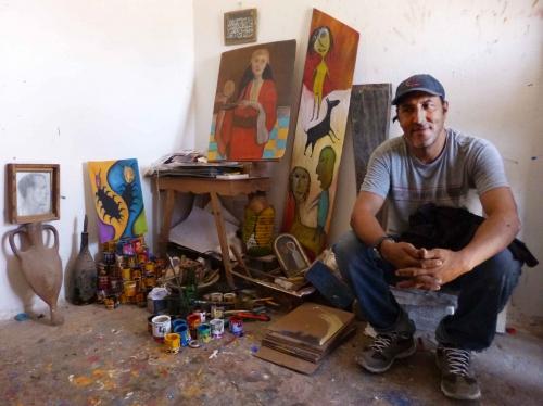 art brut,créateurs autodidactes d'essaouira,essaouira,ali maimoun,darnish