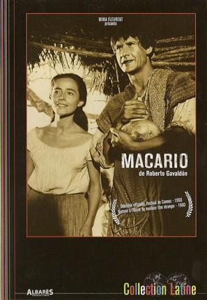 Macario, DVD, 1ère de couverture, éditions Albarès.jpg
