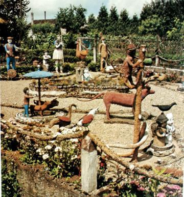 Raymond Guitet, Le Jardin Zoologique à Sauveterre-de-Guyenne, années 70, photo Jacques Verroust.jpg