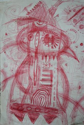 mayenne à l'oeuvre, jean-louis cerisier, viljandi, musée paul kondas, art naïf, art singulier, alain lacoste, marc girard, jacque reumeau, musée du vieux-château à Laval, csn 53, jules lefranc, robert tatin, école de figuration poétique lavalloise, céneré hubert, environnements spontanés, patrick chapelière, art brut