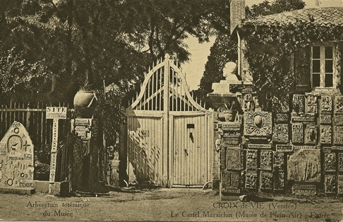 Castel Maraîchin,Croix-de-Vie, années 1920, carte postale ancienne, coll. BM.jpg