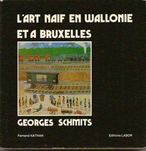 art naf,bibliothque ulysse capitain,george schmits,art naf belge,yankel