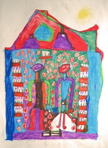 art des handicapés mentaux,atelier la passerelle,kevin r.,romuald reutimann,tarzan,jungle