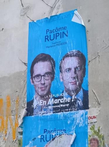 Noms prédestinants, affiche électorale Rupin et Macron.jpg