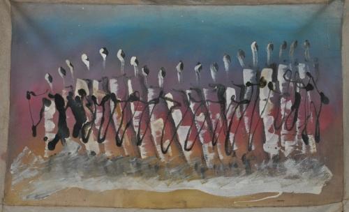 ame,amadou ba,designer,sculpture en pneu,pneumatique,art singulier africain,art contemporain africain,art contemporain sénégalais,création franche n°49,schizomètre; bruno montpied