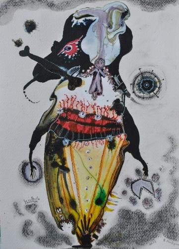 Le culbuto sauvage, 31x23cm, 2017 (2).jpg