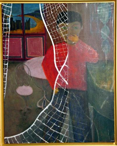 jean-louis cerisier,art naïf,figuration poétique,primitivisme lavallois,jacques reumeau musée de silésie de katowice,sonia wilk