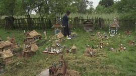drauliany narod,victor asliuk,cinéma et arts populaires,mikalaj,biélorussie,art populaire en plein air,miniaturisation,environnements spontanés,cinéma du réel