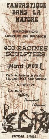 Marcel-Noël,affichette Fantastique dans la Nature, 1993.jpg