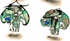 bruno montpied,art singulier,thierry tricard
