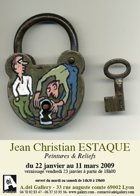 Expo Jean Estaque, A.del Gallery, Lyon, 2009.jpg