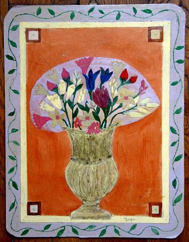 Bernard Jugie, ss titre (bouquet de fleurs), (2) vers 2012.jpg