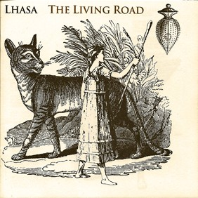 Lhasa, jaquette de l'album The Living Road.jpg