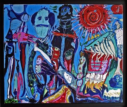 louis ame,bricoleurs de paradis,remy ricordeau,bruno montpied,solange knopf,brigitte maurice,manoir des renaudières,galerie cavin-morris,art contemporain acceptable,art singulier