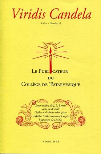 Le Publicateur du Collège de P., Viridis Candela n°17, sept 18.jpg