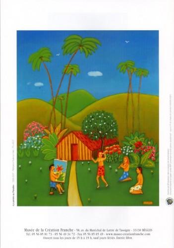 Joseph Claret, Le peintre au paradis, 1999-2007, expo musée de la création franche, 2009.jpg