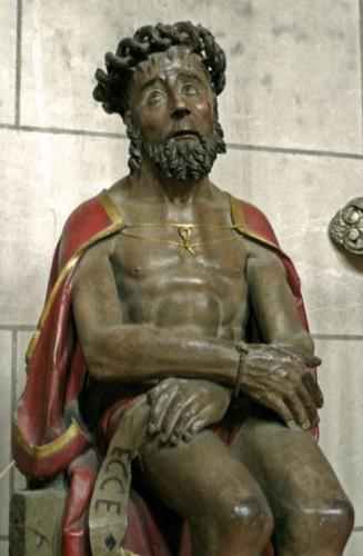 Christ sculpté, église de la Dalbade, Toulouse, ph B.Montpied, 2008.jpg