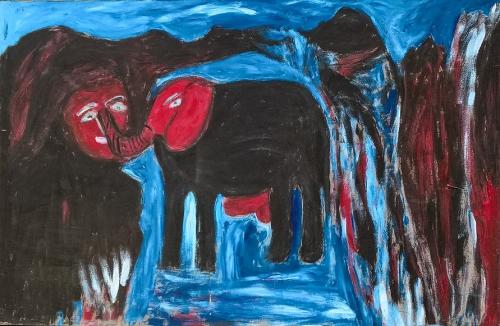 Paysage à l'éléphant (2), 60x110cm env.jpg